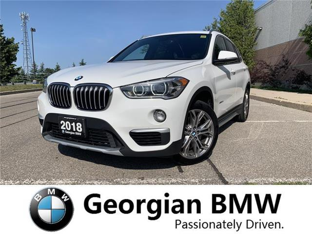 2018 BMW X1 xDrive28i (Stk: B19211-1) in Barrie - Image 1 of 20