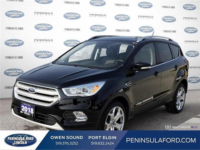 2018 Ford Escape Titanium (Stk: 1836) in Owen Sound - Image 1 of 26