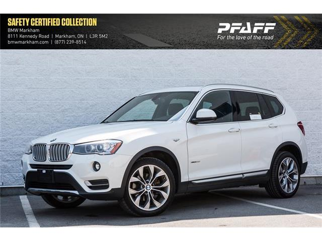 2017 BMW X3 xDrive28i (Stk: O12334) in Markham - Image 1 of 19