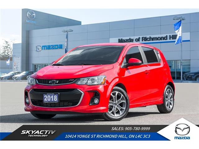 2018 Chevrolet Sonic LT Auto (Stk: P0422A) in Richmond Hill - Image 1 of 20