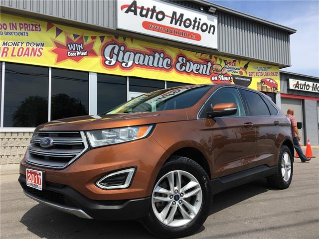 2017 Ford Edge SEL (Stk: 19875) in Chatham - Image 1 of 17