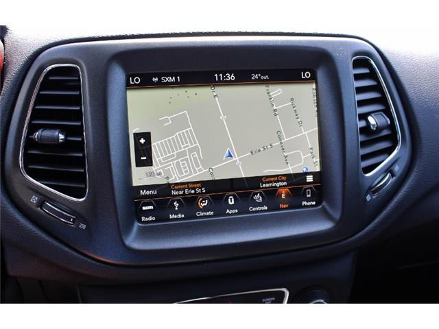 2018 Jeep Compass Trailhawk (Stk: D0111) in Leamington - Image 24 of 29