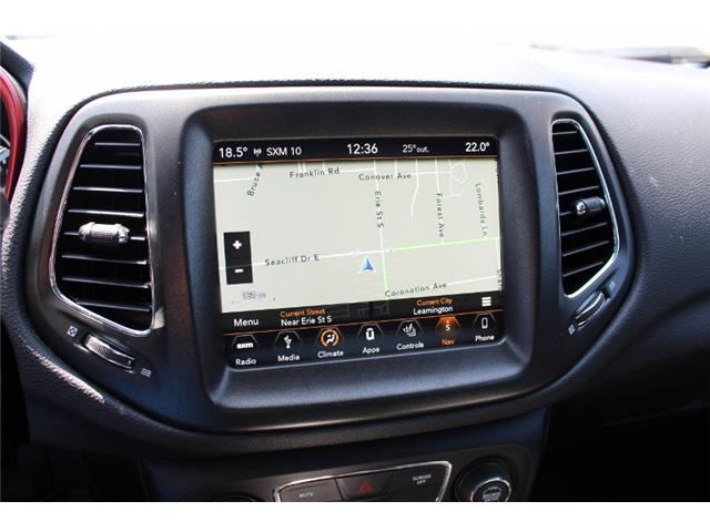 2018 Jeep Compass Trailhawk (Stk: D0114) in Leamington - Image 25 of 30