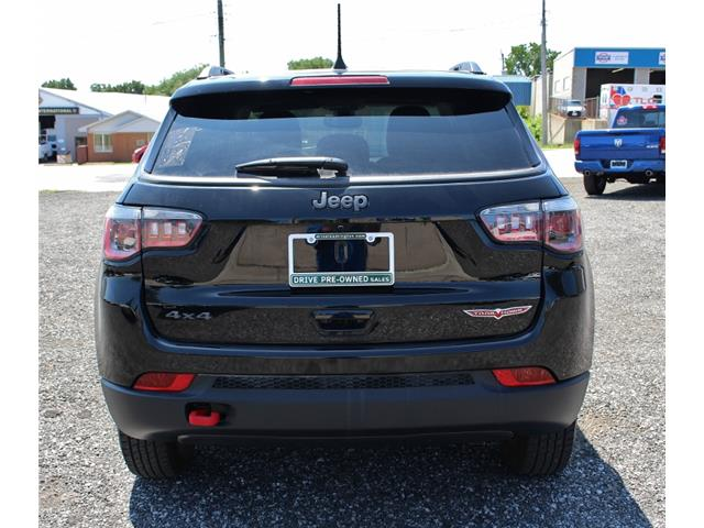 2018 Jeep Compass Trailhawk (Stk: D0114) in Leamington - Image 6 of 30