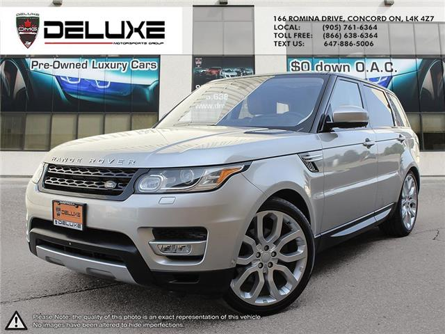 2016 Land Rover Range Rover Sport DIESEL Td6 HSE (Stk: D0626) in Concord - Image 1 of 25