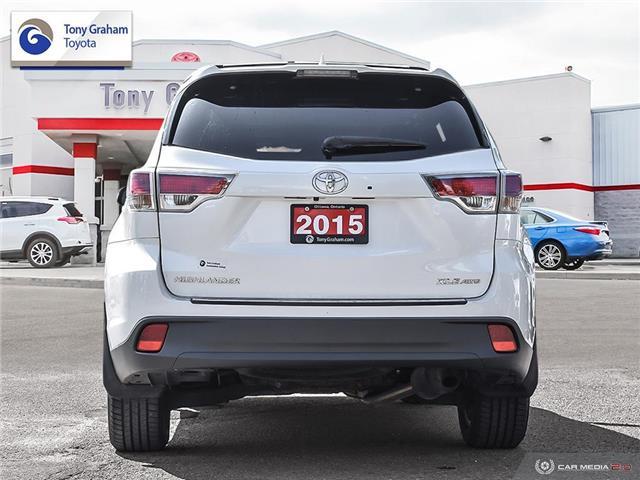 2015 Toyota Highlander XLE (Stk: E7884) in Ottawa - Image 5 of 30