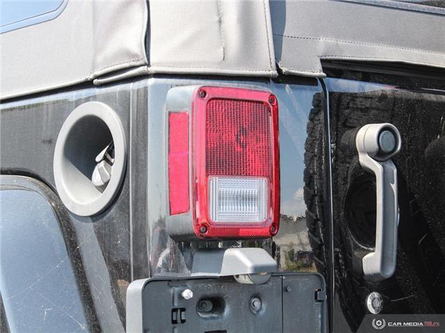 2016 Jeep Wrangler Sahara (Stk: TR7160) in Windsor - Image 11 of 26