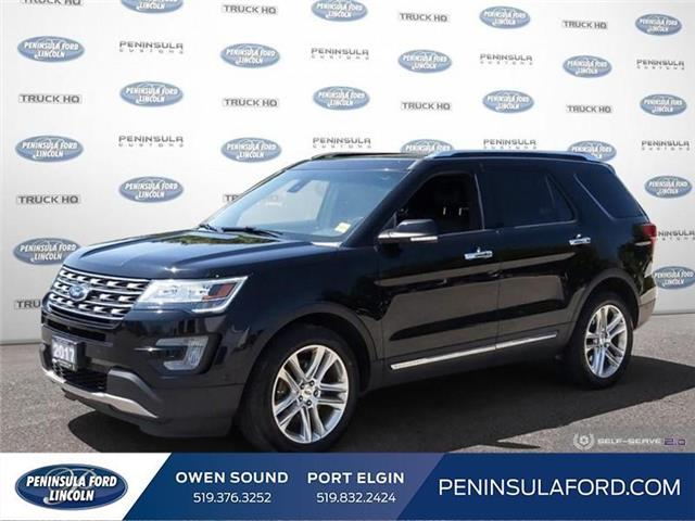 2017 Ford Explorer Limited (Stk: 19EX23A) in Owen Sound - Image 1 of 24