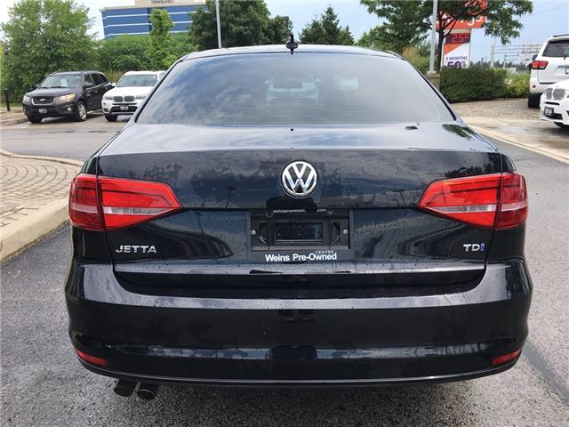 2015 Volkswagen Jetta 2.0 TDI Comfortline (Stk: 1768W) in Oakville - Image 6 of 28