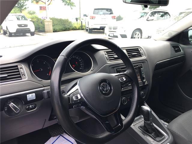 2015 Volkswagen Jetta 2.0 TDI Comfortline (Stk: 1768W) in Oakville - Image 15 of 28