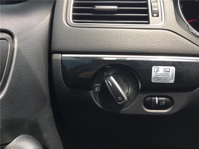 2015 Volkswagen Jetta 2.0 TDI Comfortline (Stk: 1768W) in Oakville - Image 17 of 28