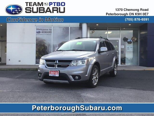 2016 Dodge Journey R/T (Stk: S3635A) in Peterborough - Image 1 of 12