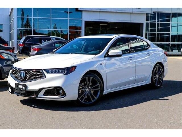 2020 Acura TLX Tech A-Spec w/Red Leather (Stk: 18758) in Ottawa - Image 1 of 30