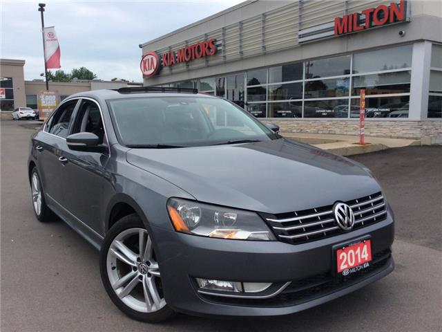 2014 Volkswagen Passat 2.0 TDI Highline (Stk: P0093) in Milton - Image 1 of 19