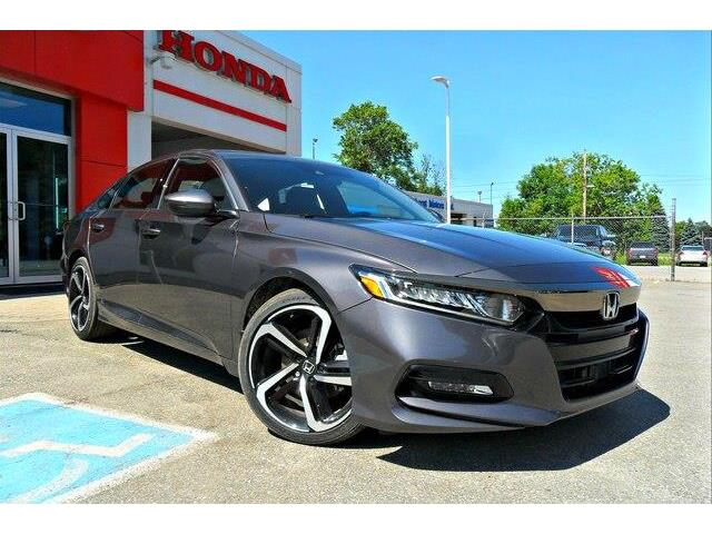 2019 Honda Accord Sport 2.0T (Stk: 10419) in Brockville - Image 7 of 20
