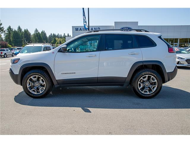 2019 Jeep Cherokee Trailhawk (Stk: P9032) in Vancouver - Image 4 of 30