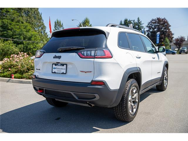 2019 Jeep Cherokee Trailhawk (Stk: P9032) in Vancouver - Image 7 of 30
