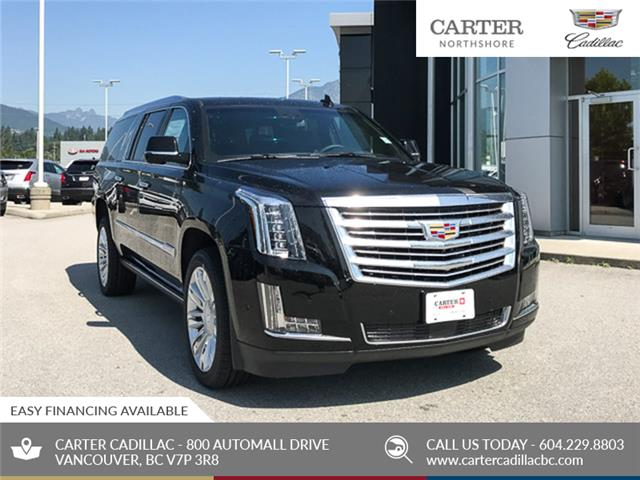 2020 Cadillac Escalade ESV Platinum (Stk: D02690) in North Vancouver - Image 1 of 24