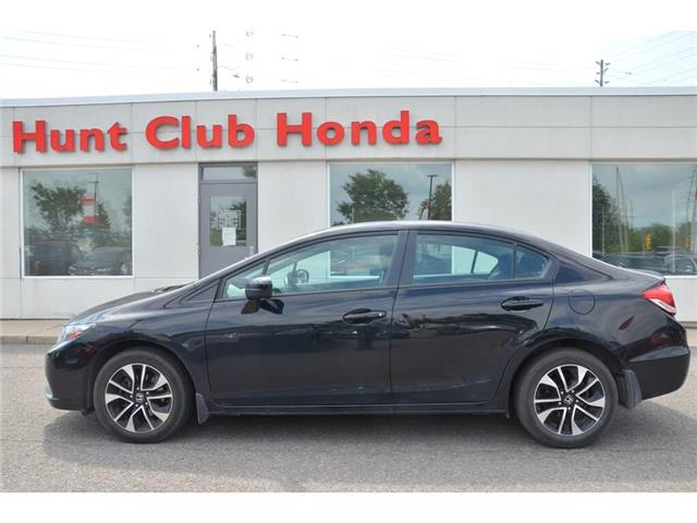 2015 Honda Civic EX (Stk: 7226A) in Gloucester - Image 1 of 25