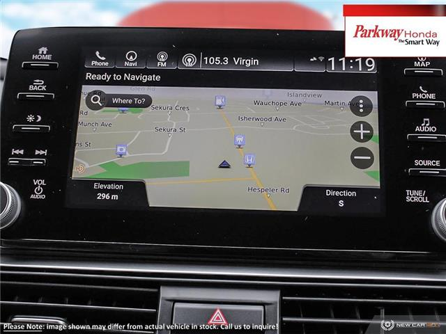 2019 Honda Accord Touring 1.5T (Stk: 928123) in North York - Image 18 of 23