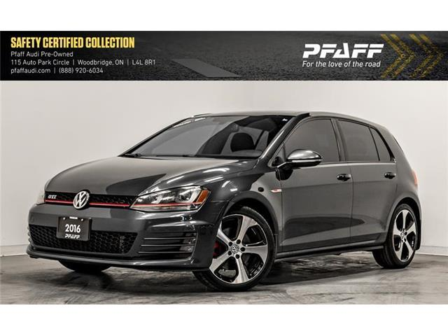 2016 Volkswagen Golf GTI 5-Door Autobahn (Stk: C6999) in Woodbridge - Image 1 of 22