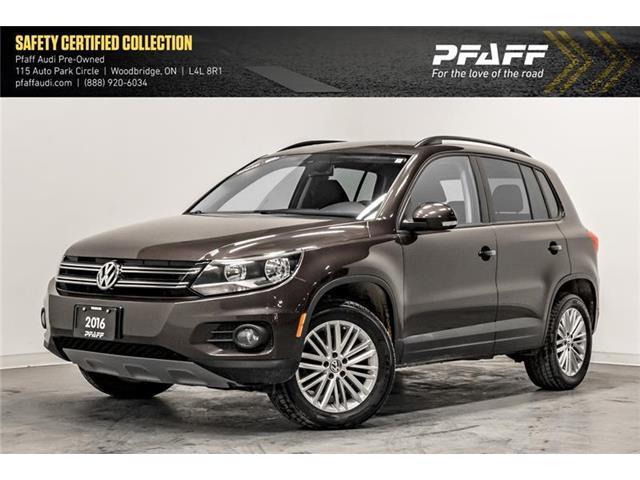 2016 Volkswagen Tiguan Special Edition (Stk: T16988AA) in Woodbridge - Image 1 of 22