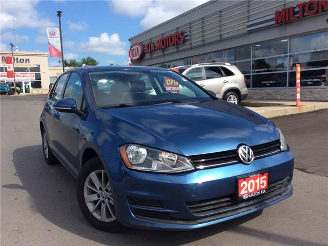 2015 Volkswagen Golf 1.8 TSI Trendline (Stk: P0083) in Milton - Image 1 of 18