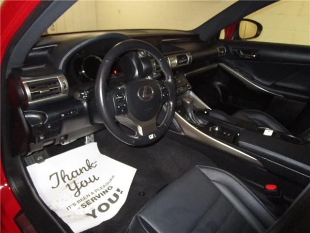 2016 Lexus IS 300 Base (Stk: 1980431 ) in Regina - Image 16 of 31
