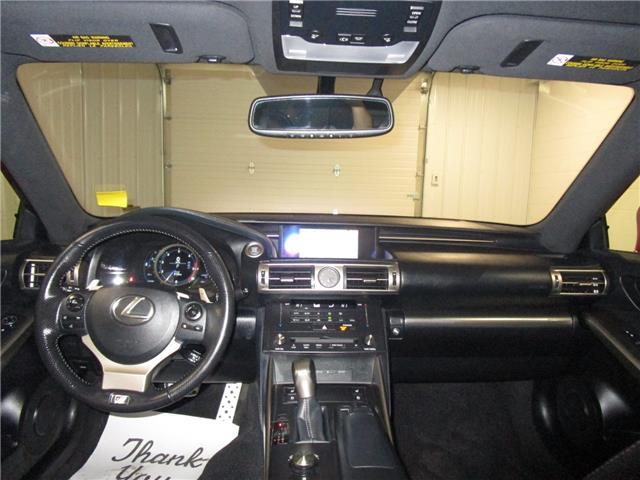 2016 Lexus IS 300 Base (Stk: 1980431 ) in Regina - Image 17 of 31