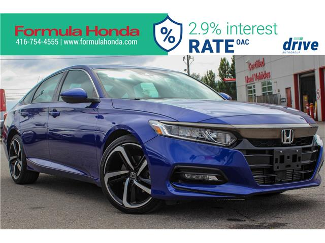 2018 Honda Accord Sport 2.0T (Stk: B11344) in Scarborough - Image 1 of 30