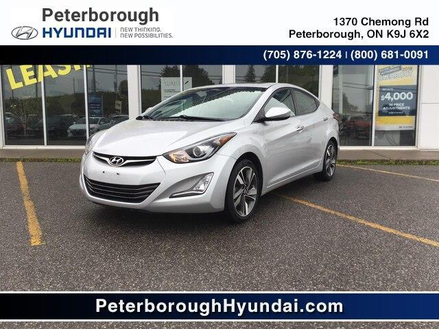 2014 Hyundai Elantra Limited (Stk: HP0129) in Peterborough - Image 1 of 10