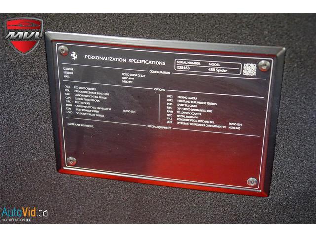 2019 Ferrari 488  (Stk: ) in Oakville - Image 40 of 43
