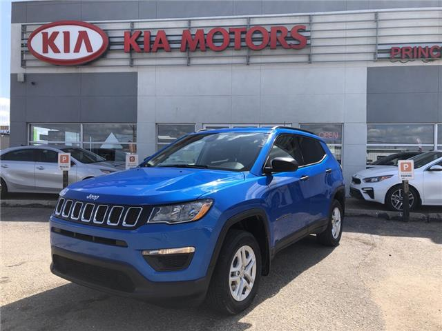 2018 Jeep Compass Sport (Stk: B4097A) in Prince Albert - Image 1 of 19