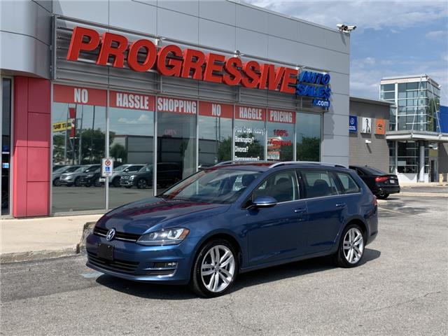 2017 Volkswagen Golf SportWagen 1.8 TSI Highline (Stk: HM506451) in Sarnia - Image 1 of 26
