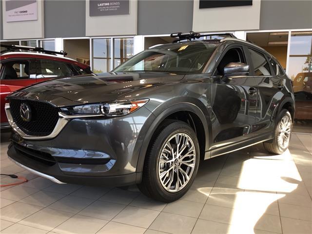 2019 Mazda CX-5 GS (Stk: N4874) in Calgary - Image 1 of 5