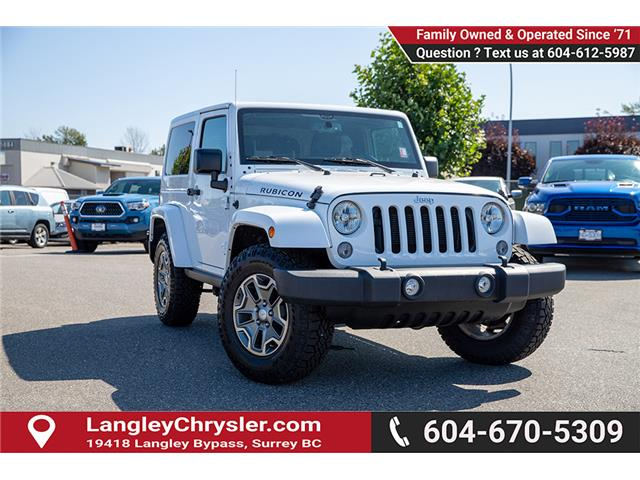 2017 Jeep Wrangler 23Z Recon (DISC) (Stk: EE909820B) in Surrey - Image 1 of 22