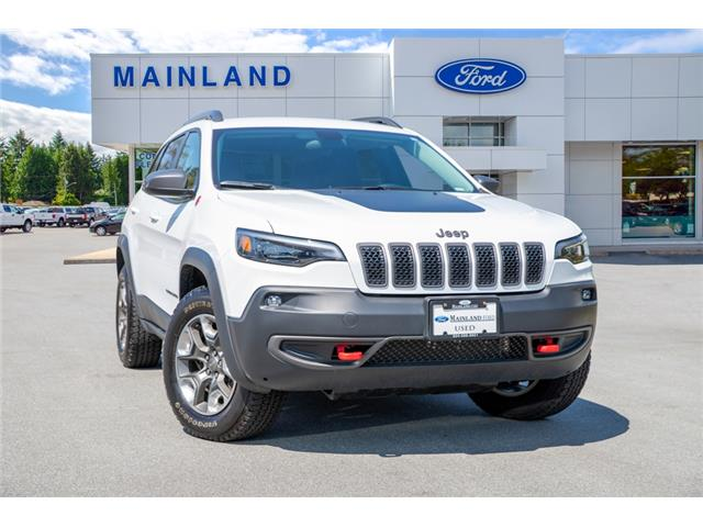 2019 Jeep Cherokee Trailhawk (Stk: P9032) in Vancouver - Image 1 of 30