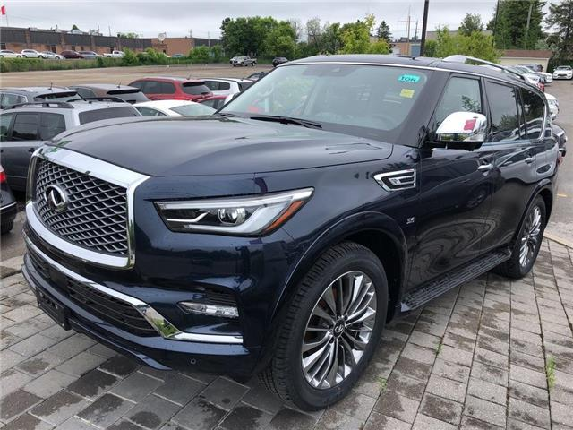 2019 Infiniti QX80 LUXE 8 Passenger (Stk: 19QX8014) in Newmarket - Image 1 of 4