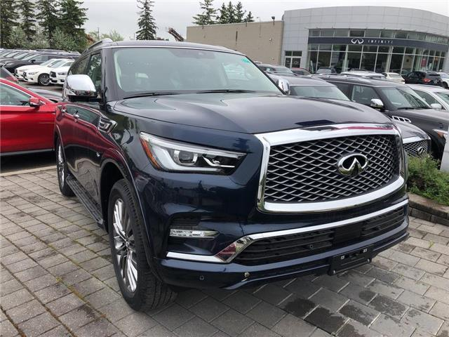 2019 Infiniti QX80 LUXE 8 Passenger (Stk: 19QX8014) in Newmarket - Image 2 of 4
