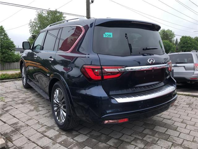 2019 Infiniti QX80 LUXE 8 Passenger (Stk: 19QX8014) in Newmarket - Image 4 of 4