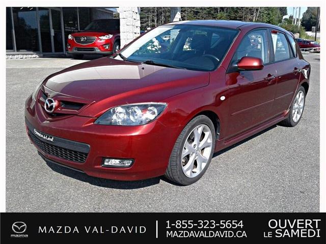 2008 Mazda Mazda3 Sport  (Stk: 19327B) in Val-David - Image 1 of 18