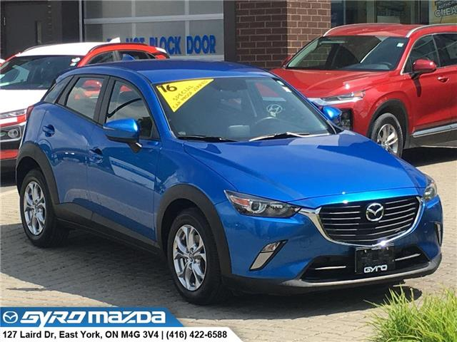 2016 Mazda CX-3 GS (Stk: 28865A) in East York - Image 1 of 30