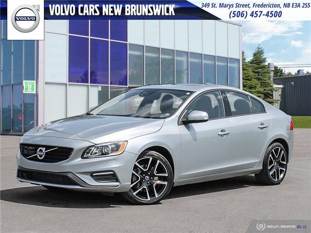 2018 Volvo S60 T5 Dynamic (Stk: V190300A) in Fredericton - Image 1 of 24