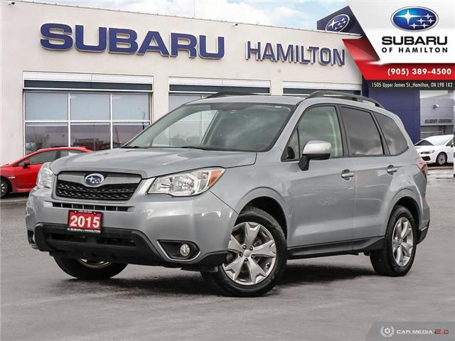 2015 Subaru Forester 2.5i Touring Package (Stk: U1480) in Hamilton - Image 1 of 27