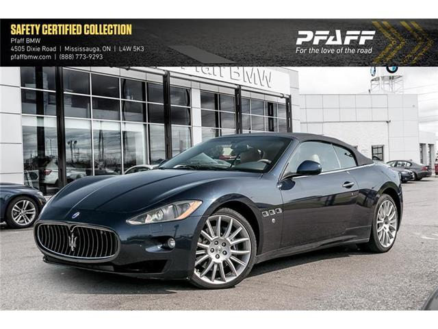 2011 Maserati GranTurismo Base (Stk: 22581A) in Mississauga - Image 1 of 22