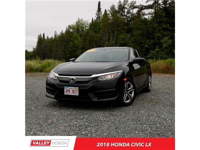 2018 Honda Civic LX (Stk: U5339A) in Woodstock - Image 1 of 10
