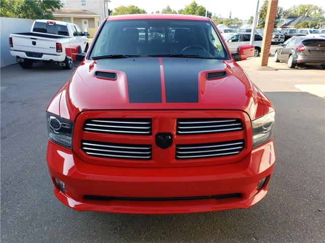 2016 RAM 1500 Sport (Stk: 8807) in Fort Macleod - Image 2 of 18