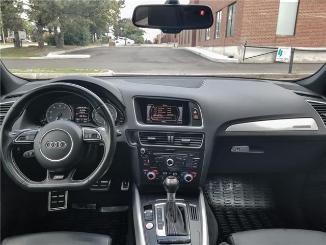 2016 Audi SQ5 3.0T Progressiv (Stk: 15405) in Woodbridge - Image 13 of 21