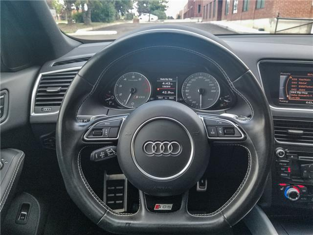 2016 Audi SQ5 3.0T Progressiv (Stk: 15405) in Woodbridge - Image 14 of 21
