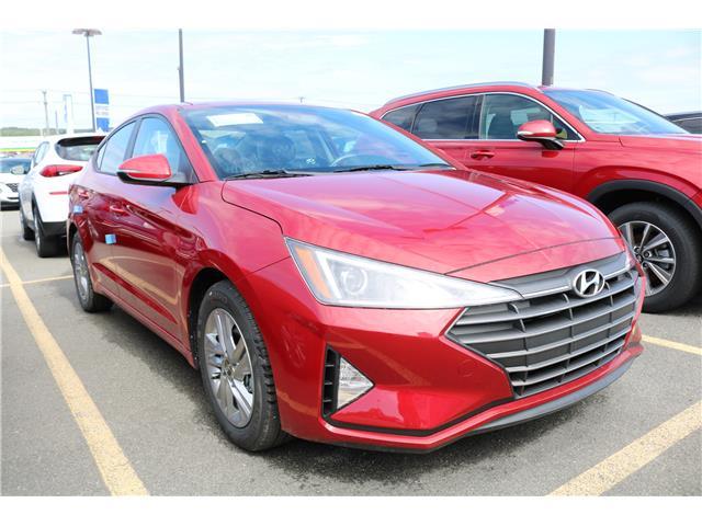 2020 Hyundai Elantra Preferred w/Sun & Safety Package (Stk: 02018) in Saint John - Image 1 of 1
